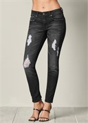 DESTROYED JEANS - фото 4704