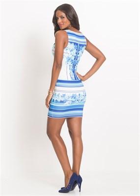 PRINTED DRESS - фото 4762
